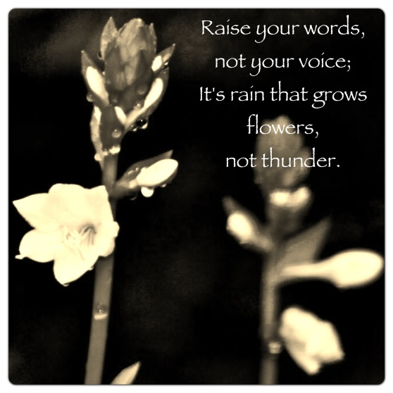 Raise Your Words...